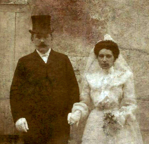 CASSEGRAIN Jeanne - Mariage de Samuel et Jeanne en 1904