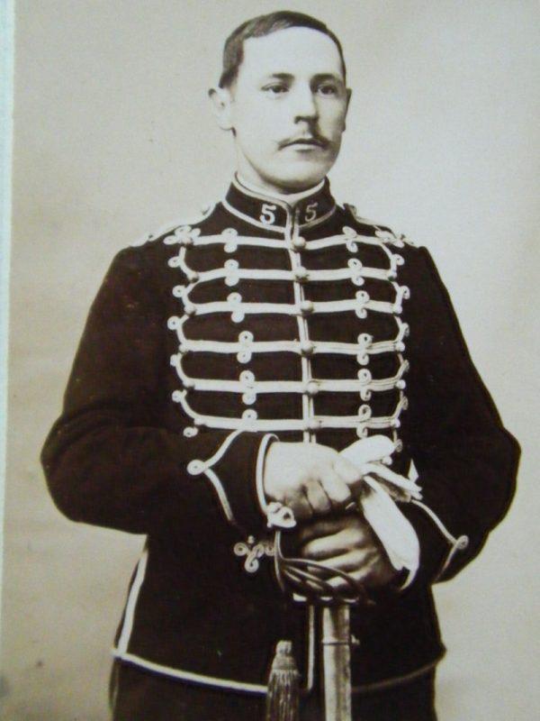 Photo cavalier de remonte