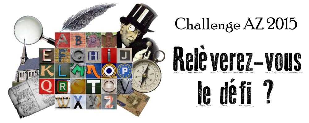 Challenge AZ Généalogie 2015