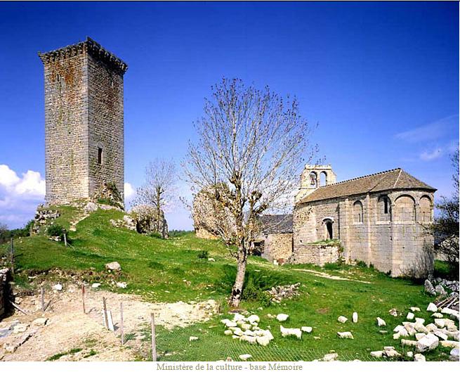 D'APCHIER Guérin - Tour d'Apcher et Chapelle Saint Jean