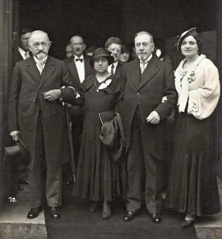 DOMERGUE Pierre - au mariage de LJS 1933