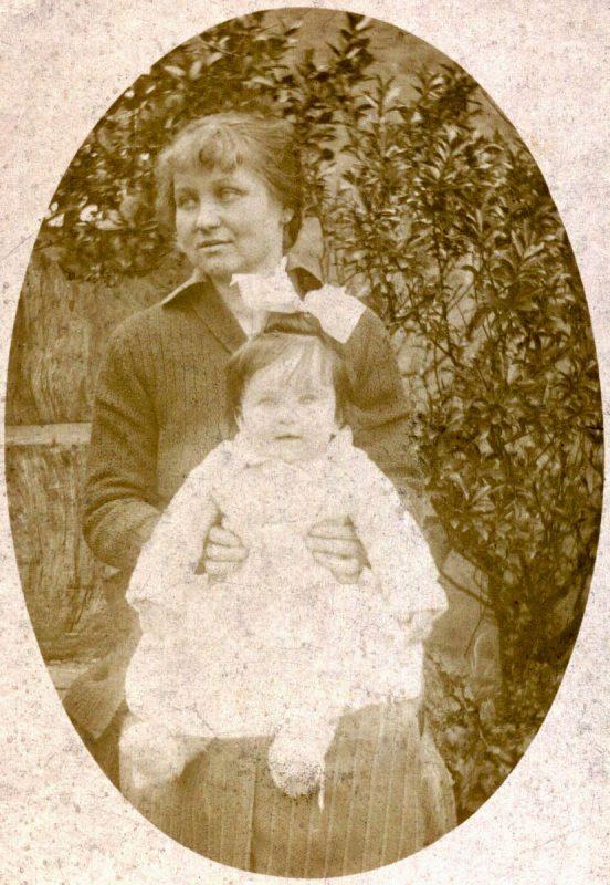 DONAT-MAGNIN Marcelle - avec Louise sa mère
