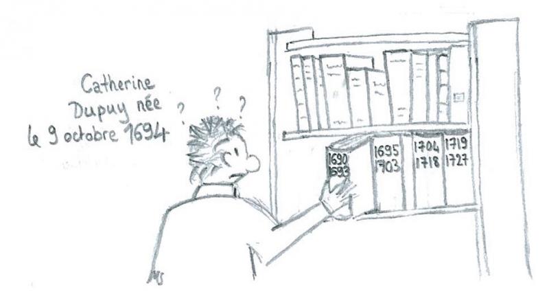 Dictionnaire Généalogie B