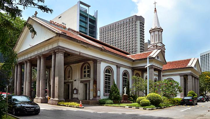 Enquete Singapour - Cathedral of the Good Shepherd