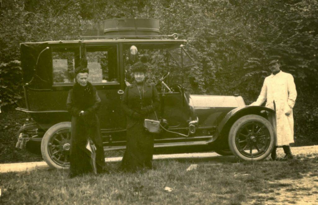 Marcel DONAT-MAGNIN chauffeur chez les Reinhart