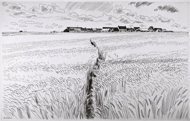 SOULAS Louis-Joseph - Le Sentier vers les fermes
