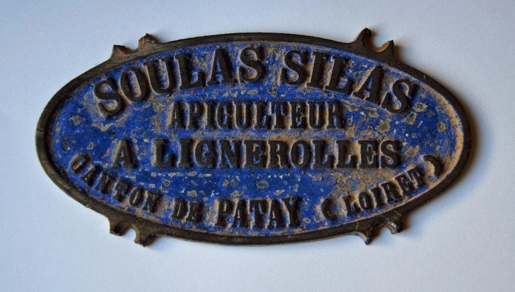 Plaque apiculteur Silas SOULAS