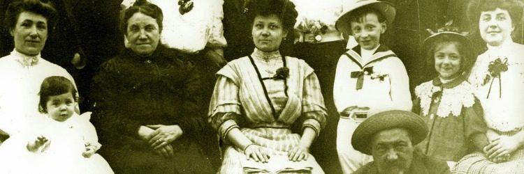 La photo de famille d'Eugénie Baduel