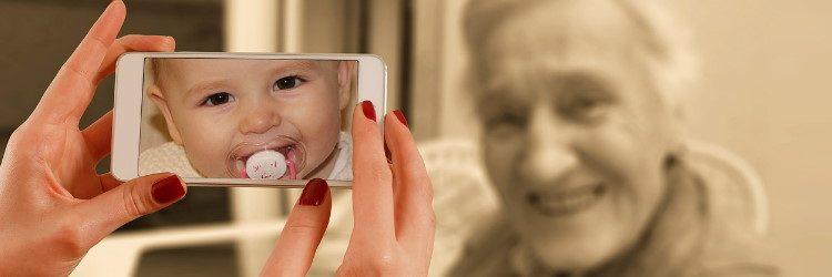 Technologie, Jeunes et Généalogie